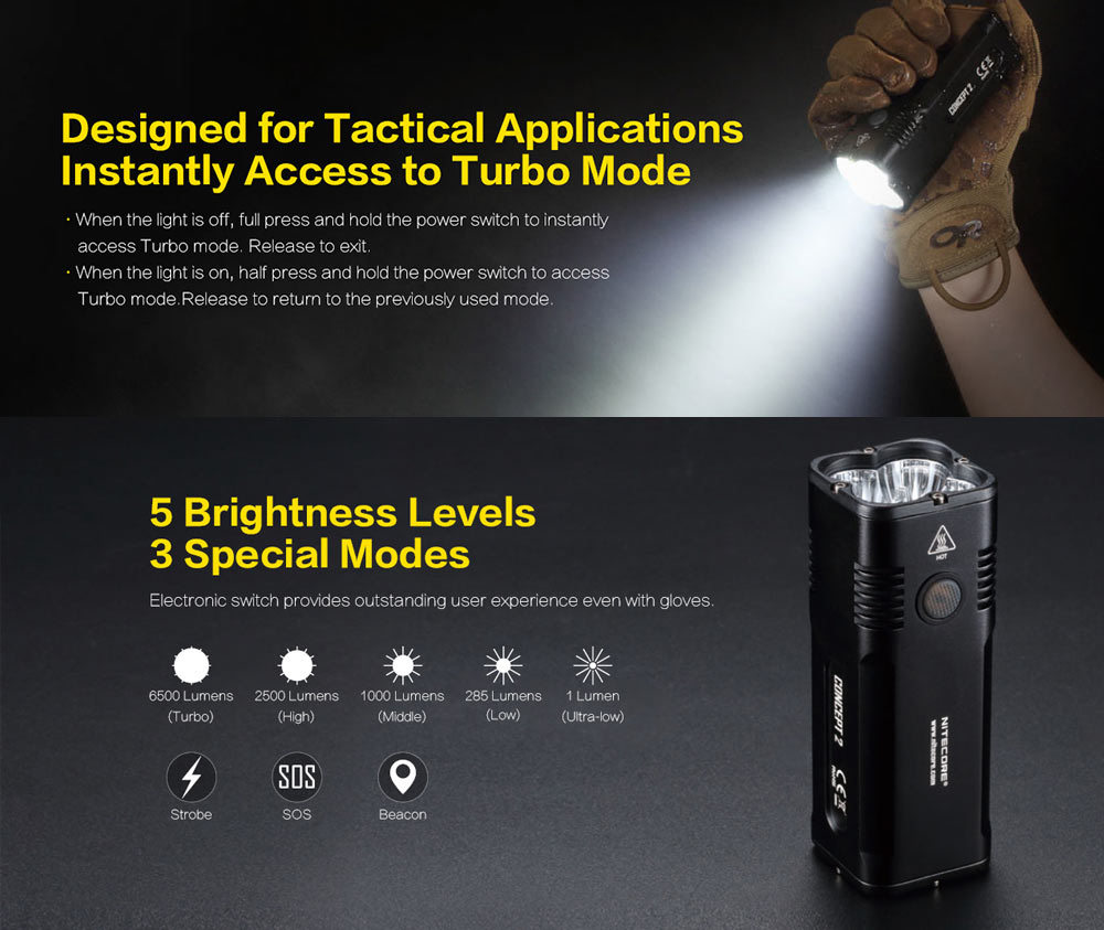 concept flashlight