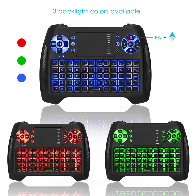 SeenDa 2126 Multifunction Mini Bluetooth Touchpad Keyboard