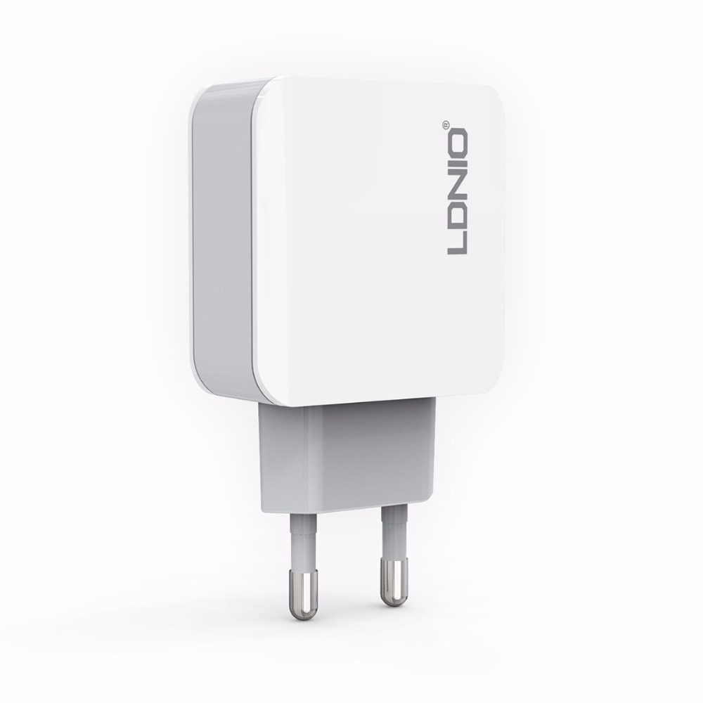 LDNIO A3301 3 Plug USB Power Charger for iPhone iPad Samsung 5V 3.1A