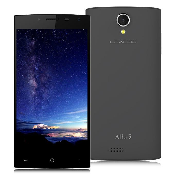 LEAGOO Alfa 5 Smartphone 5.0inch SC7731 Quad core 1.3GHz 1GB RAM 8GB ROM