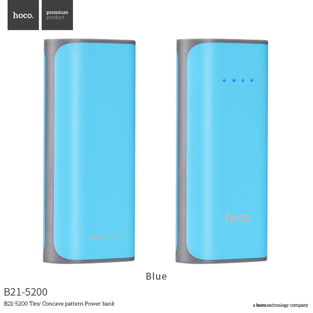 HOCO B21 5200mAh Mini USB Power Bank