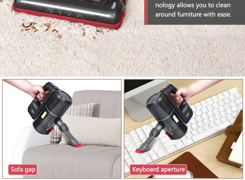 Dibea C01 2-in-1 Stick and Handheld Vacuum Cleaner