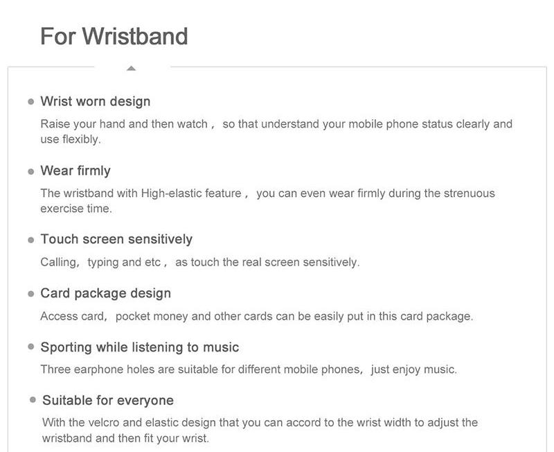 Baseus CWYD Sports Running Armband Phone Case