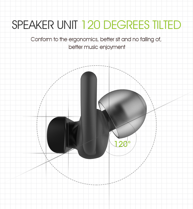 SYLLABLE D300L Sport In-ear Earphone Wireless Hand Free Bluetooth 4.1