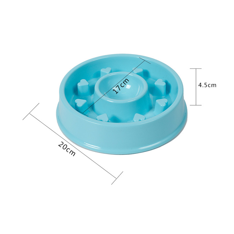 Doglemi DD01267 Portable Anti-Choking Pet Bowl for Home Dog Cat Feeder