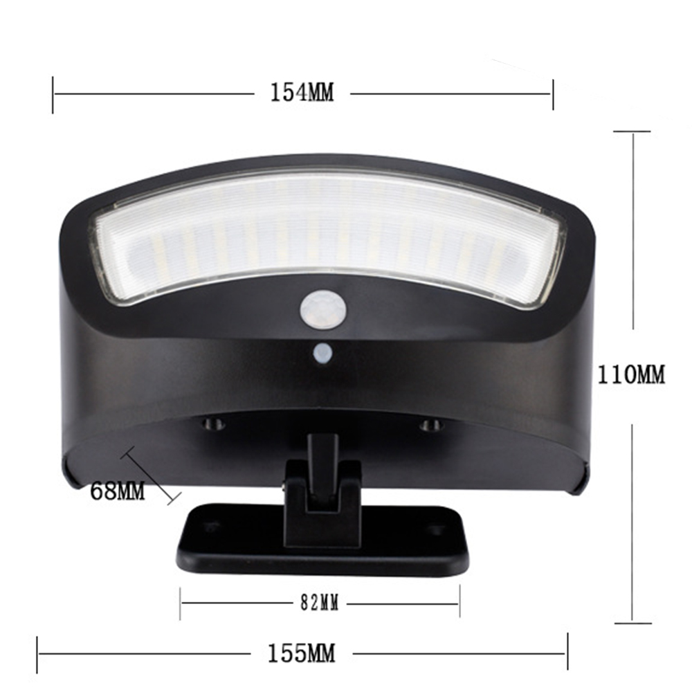 Dishun DS1818 Solar Porch LED Sensor Lamp