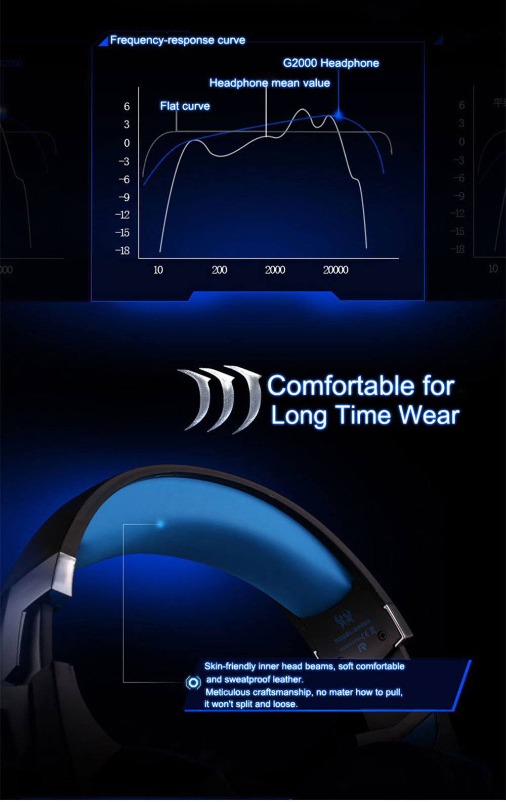g2000 stereo gaming headset