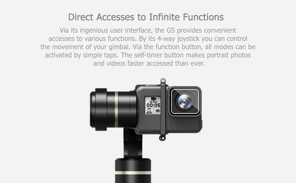 gimbal for action camera