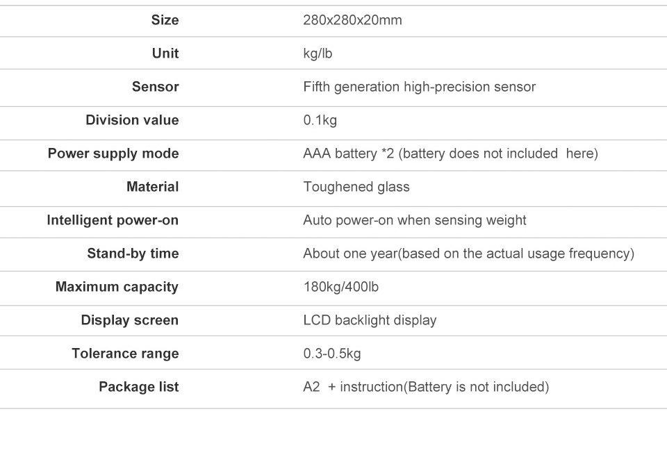 Gason A2 Electronic Digital Floor Balance Scales