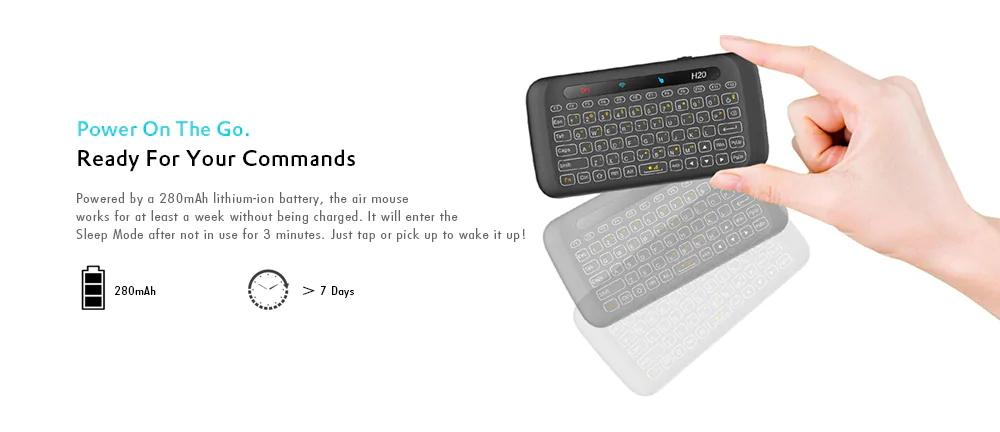 h20 mini touchpad
