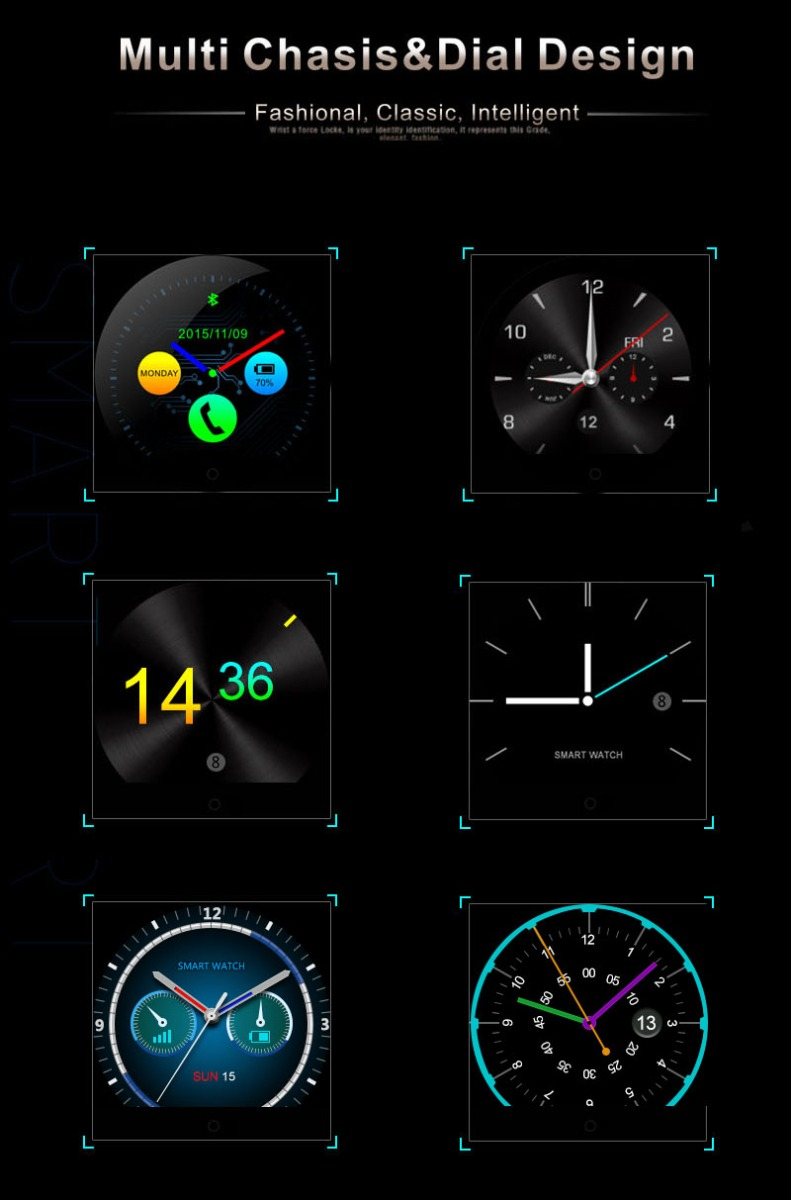 smart wrist watch