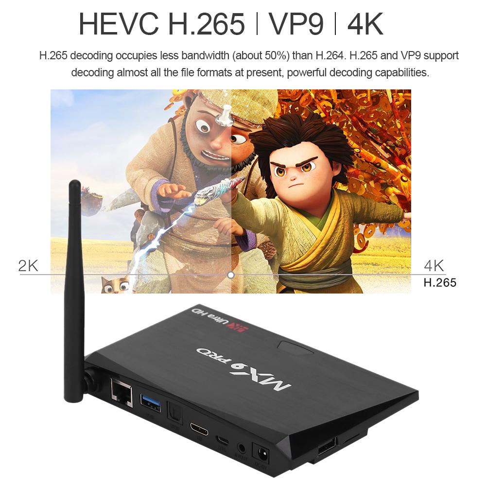 mx9 pro 4k smart tv box