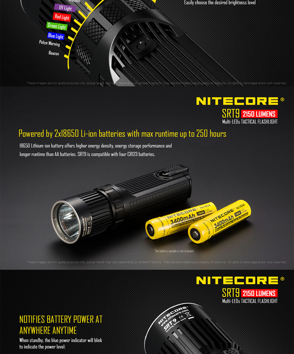 new nitecore flashlight