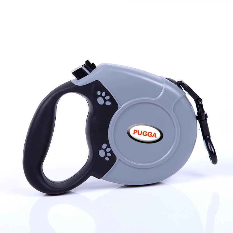 PUGGA Retractable Resistant Nylon Dog Leash for Medium Large Dogs 5M / 8M