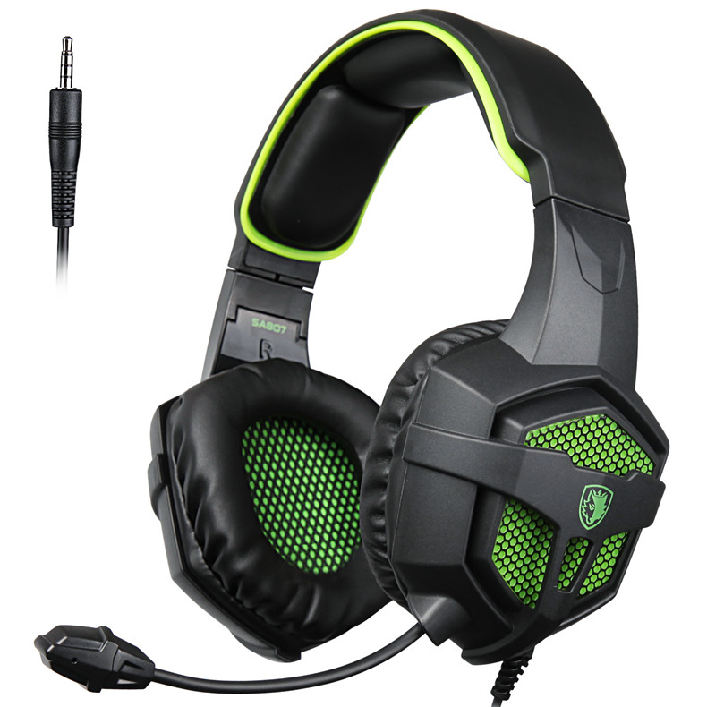 SADES SA807 Gaming Stereo Headset with Microphone for Gamer PC