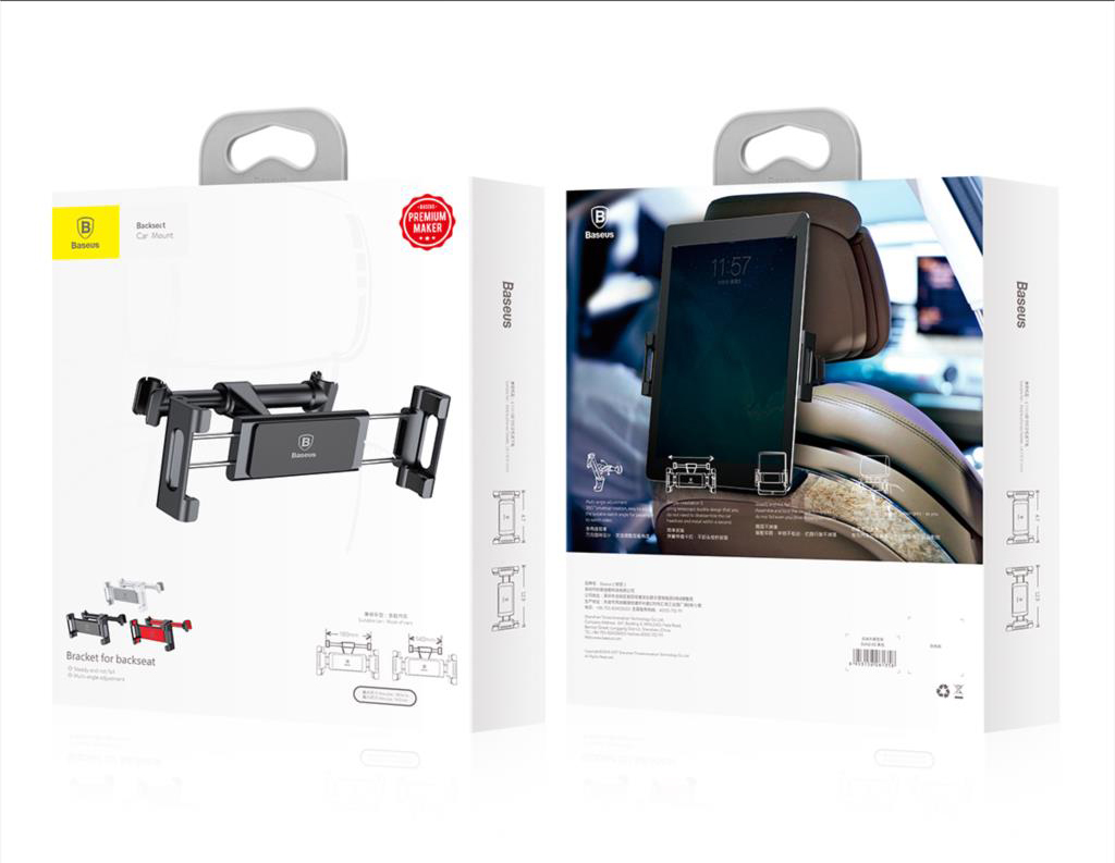 Baseus SUHZ Rear Seat Car Mount Holder