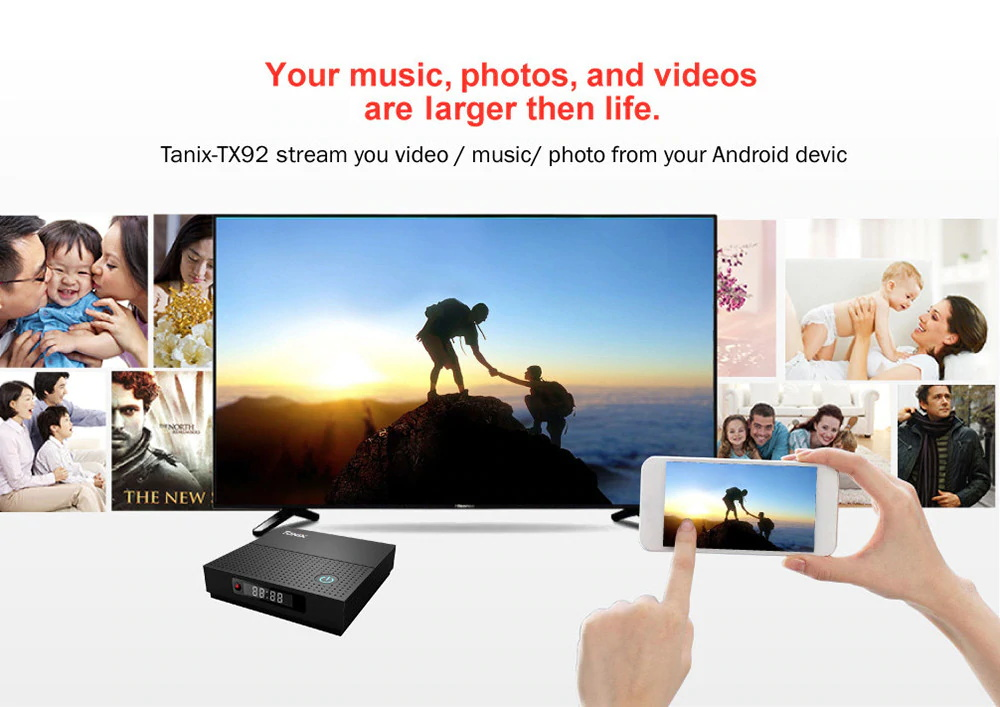 new tanix tv box