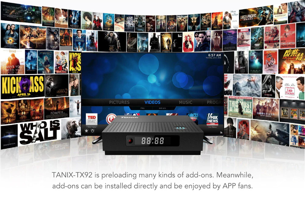 tanix 4k tv box