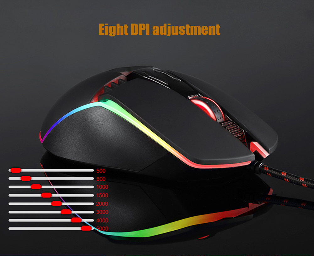 adjustable dpi mouse