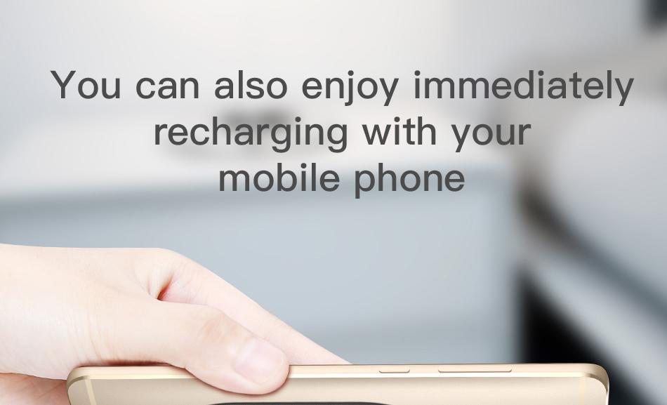 Baseus WXTE QI Microfiber Wireless Charging Receiver