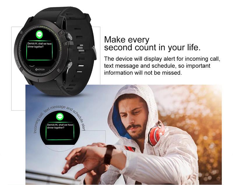 zeblaze vibe 3 hr sports smartwatch