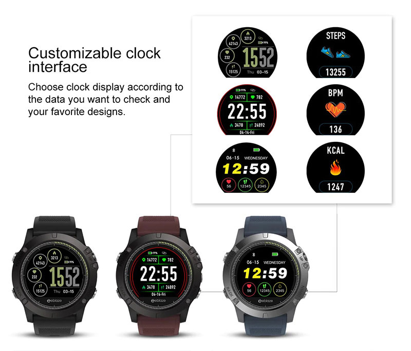 Zeblaze Vibe 3 Hr Smartwatch Ip67 Waterproof