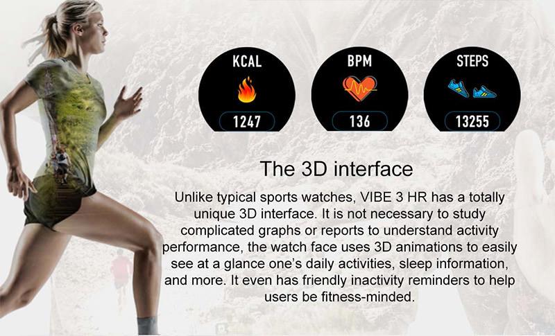 vibe 3 hr sports smartwatch