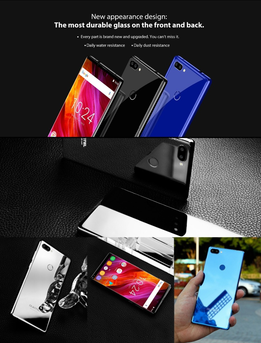 Oukitel MIX 2 5.99 '' FHD Screen 4G Mobile Phone Fingerprint ID