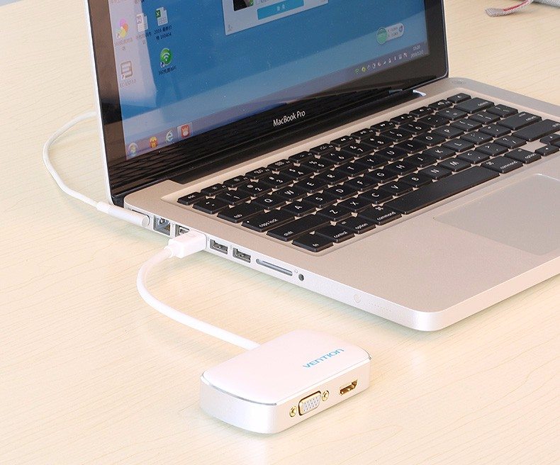 Vention 2 in 1 Mini DP to HDMI / VGA Converter