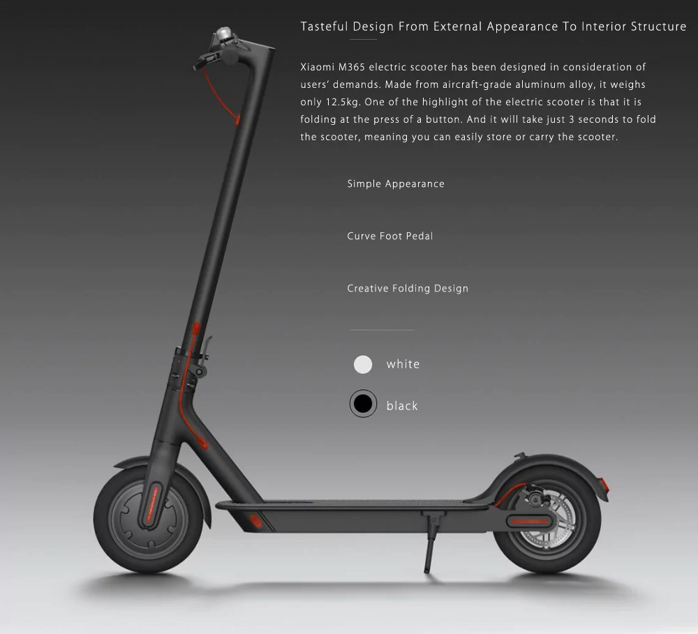 mijia m365 scooter