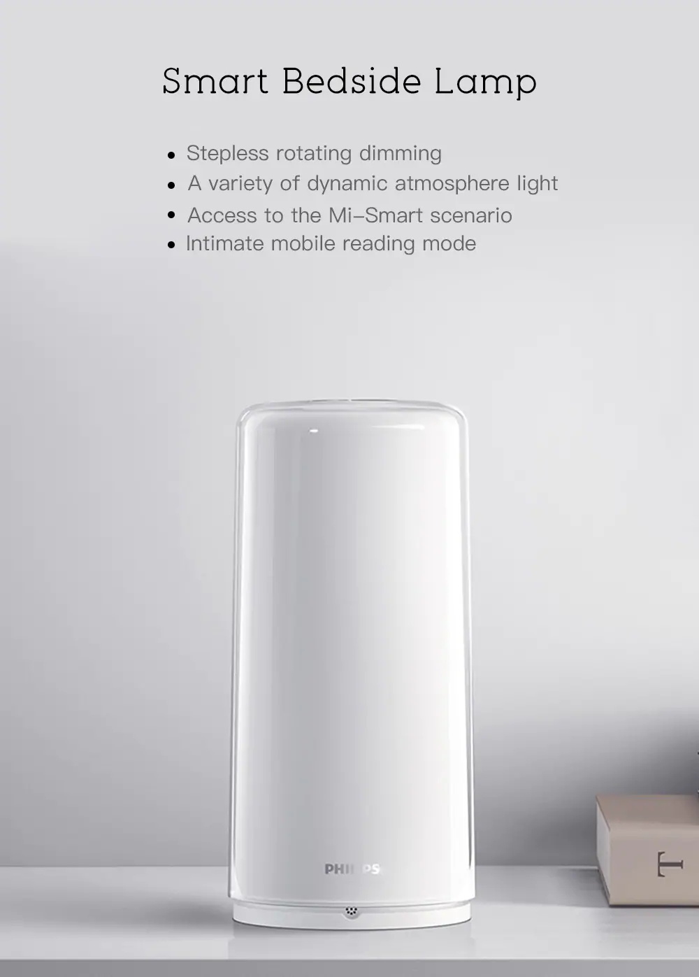 philips smart bedside lamp