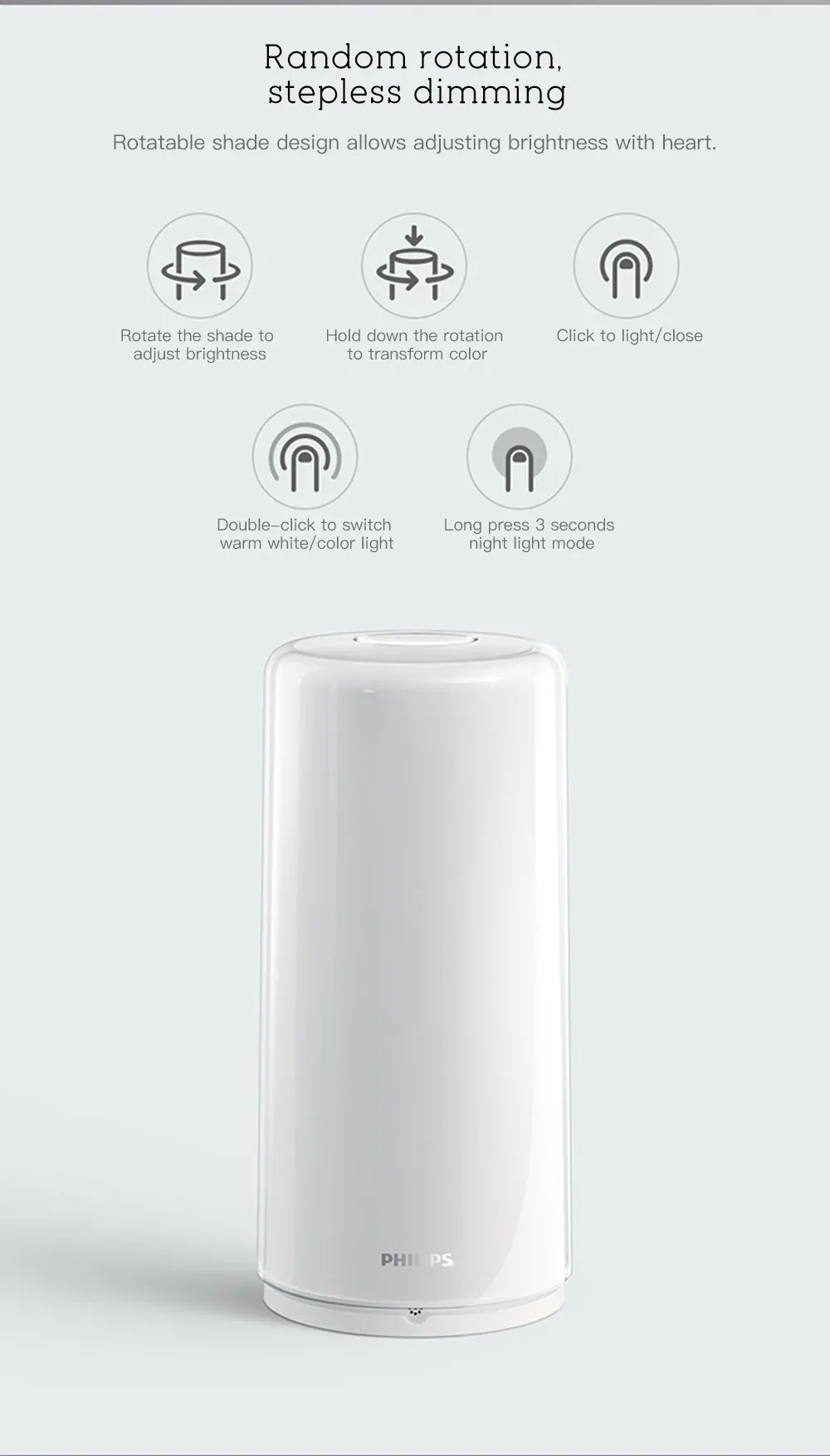xiaomi philips bedside lamp