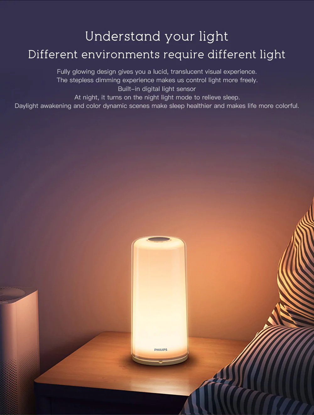 xiaomi philips night lamp