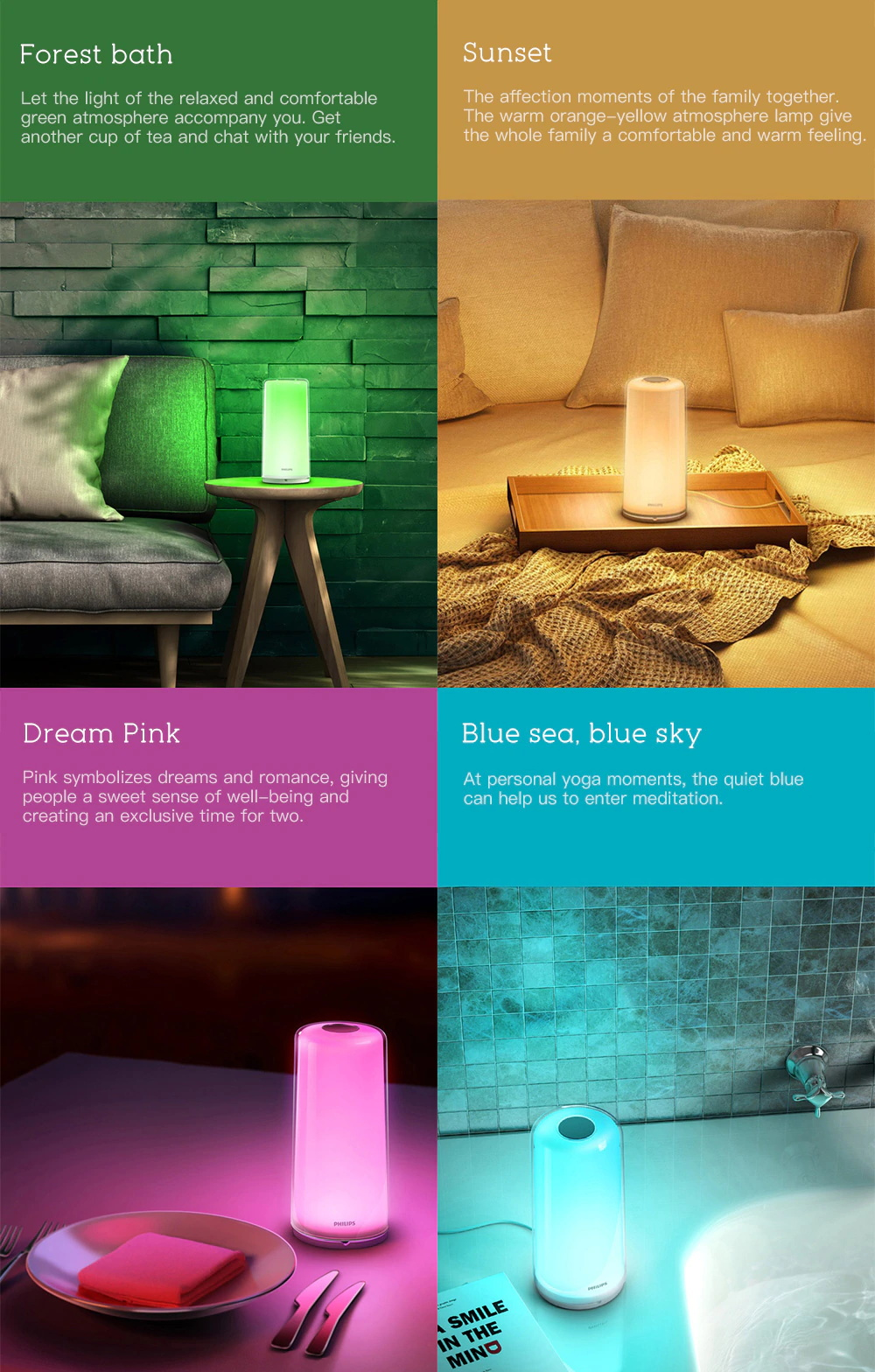 philips smart bed lamp