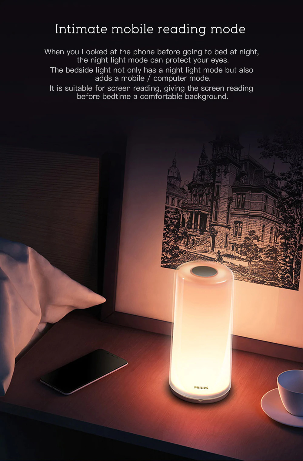 xiaomi philips smart app control lamp