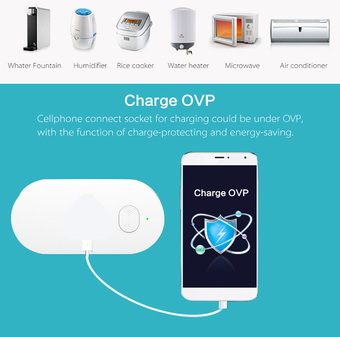 Support charging protection, ensure the charging safety