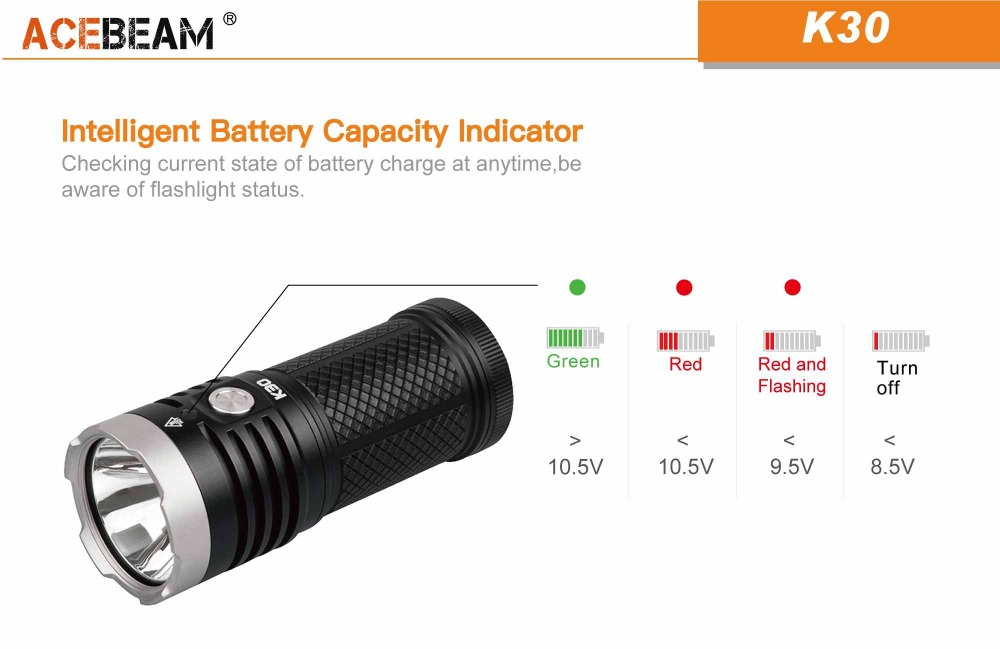 acebeam k30 flashlight