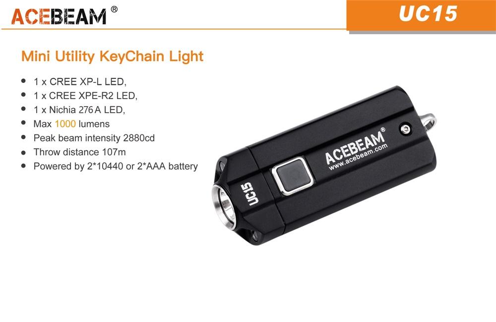 acebeam uc15 keychain light