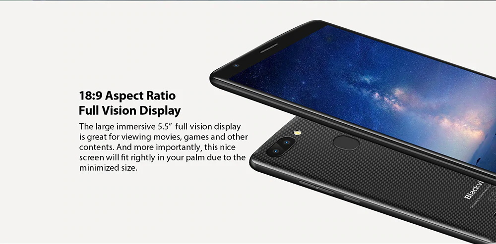 2018 blackview smartphone