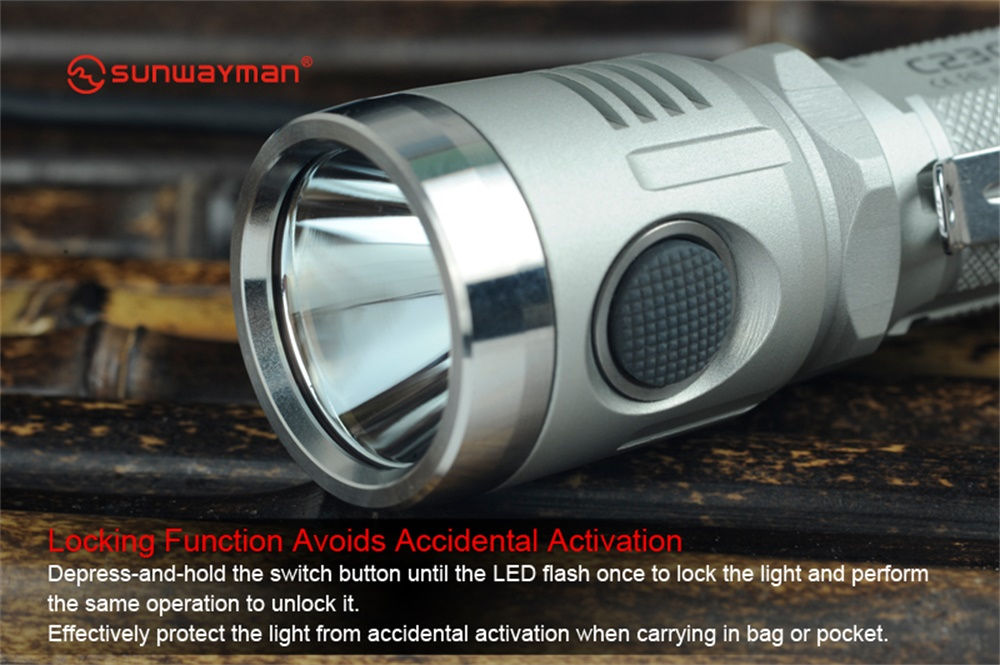 new sunwayman led flashlight