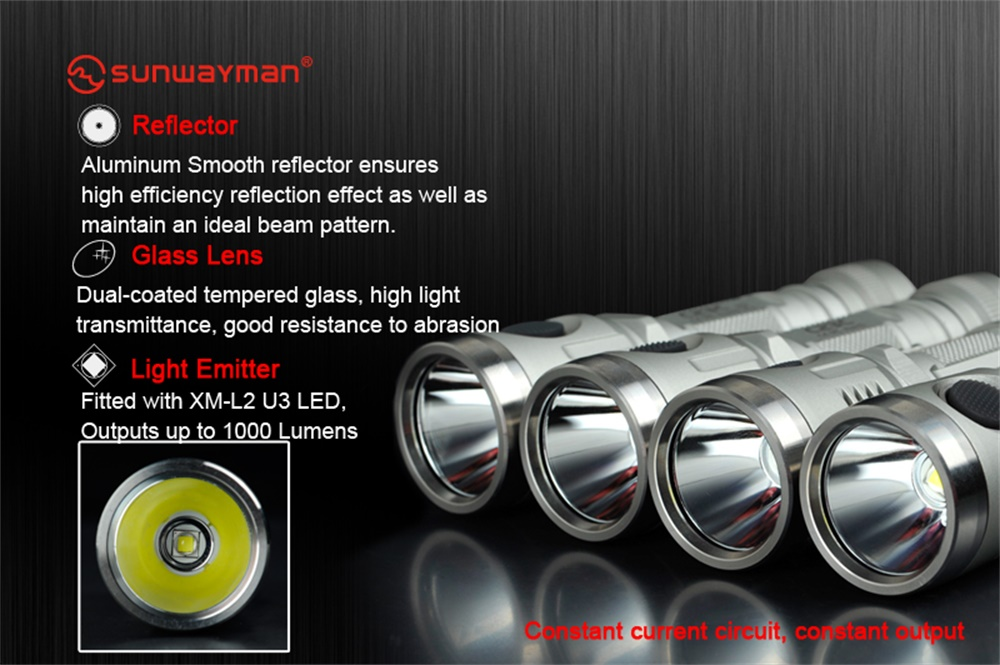 c23c multi-functional flashlight