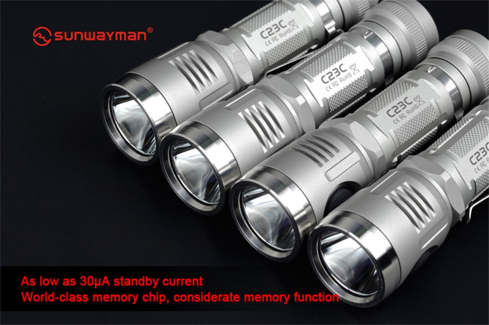 c23c rechargeable flashlight