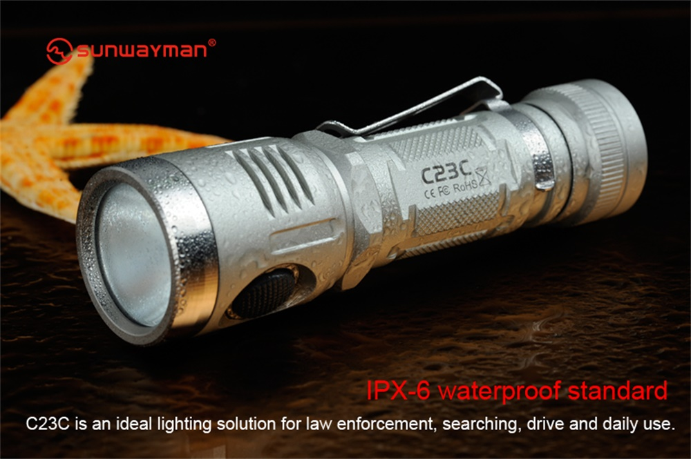 sunwayman c23c flashlight price