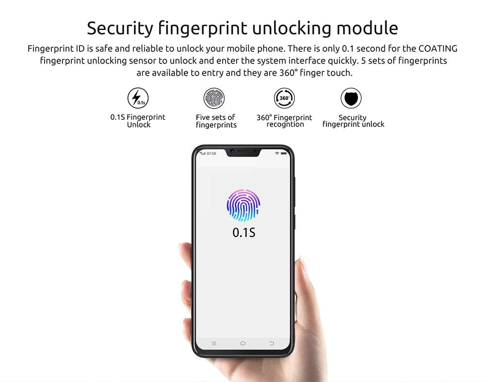 2018 cubot p20 smartphone