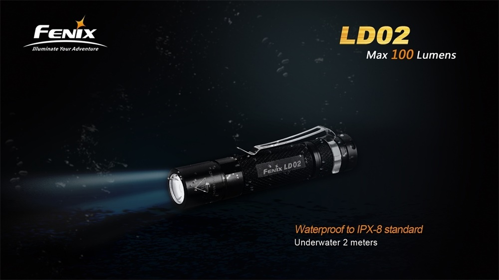 new fenix flashlight