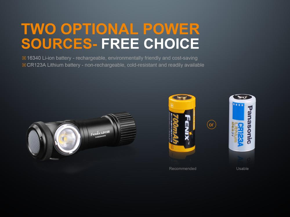 ld15r rechargeable flashlight