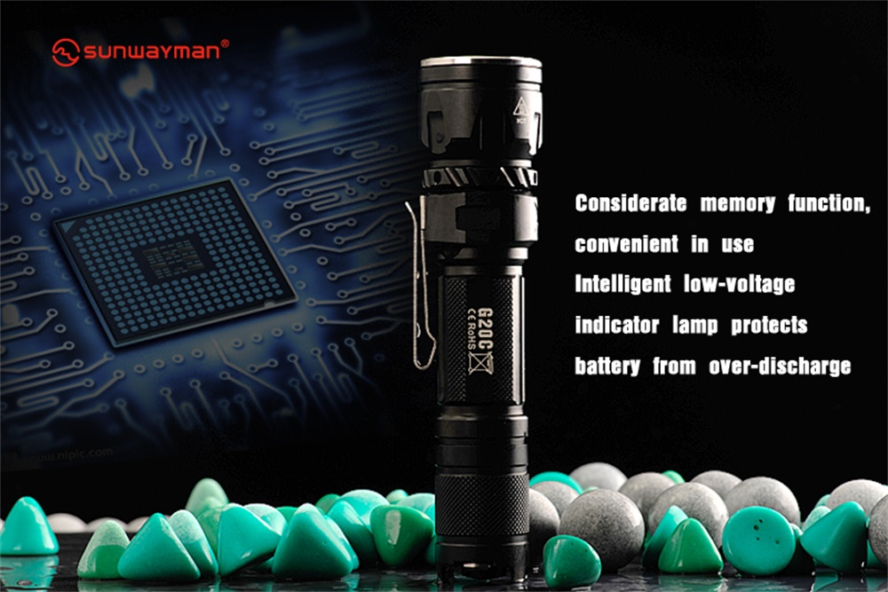 new sunwayman g20c flashlight
