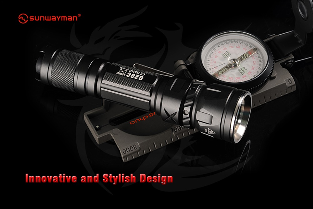 sunwayman g20c tactical flashlight