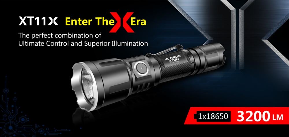 klarus xt11x flashlight
