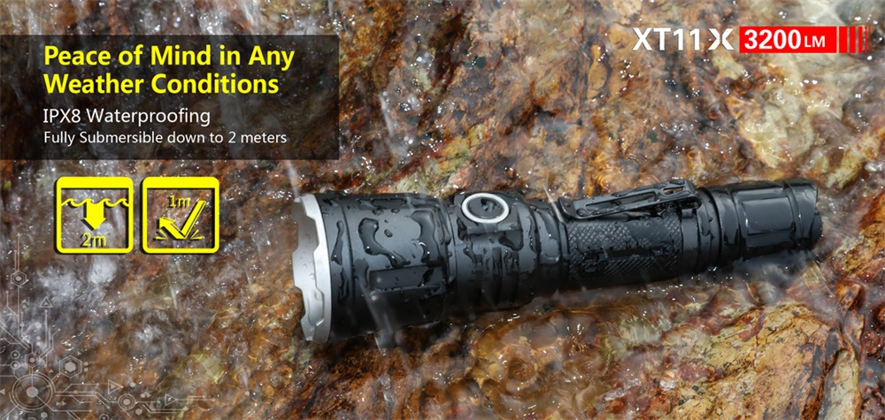 new klarus tactical flashlight